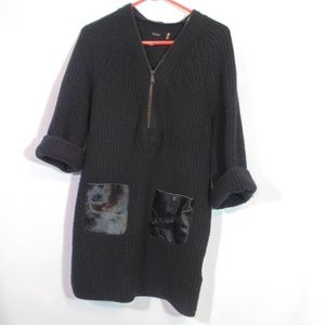 Elie Tahari wool/cashmere sweater/tunic dress